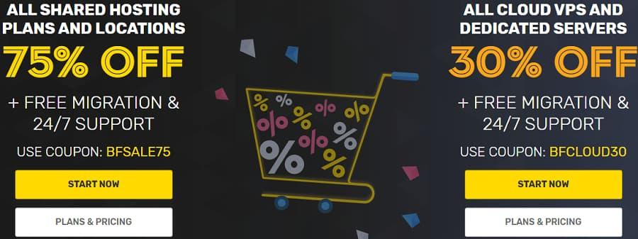 Fastcomet Web Hosting Black Friday Deals