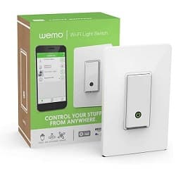 Wemo Light Switch, WiFi enabled