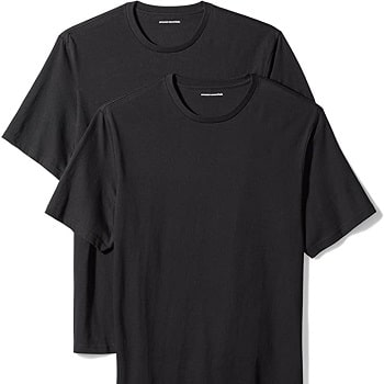 Amazon Essentials Men's 2-Pack Crewneck T-Shirts