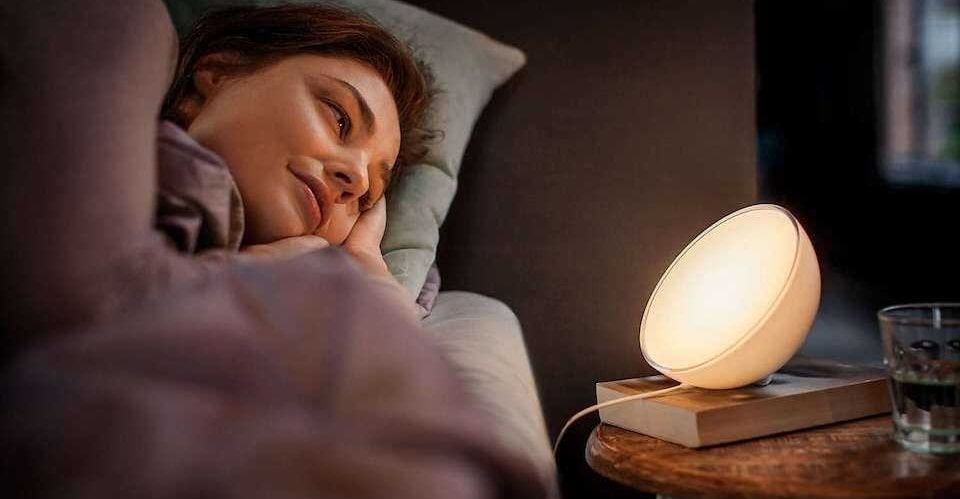 Setting Wake-up Alarm with Philips Hue
