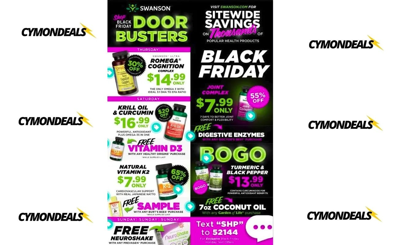 Swanson Black Friday Ad!