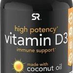 Vitamin D3 5000iu (125mcg) with Coconut Oil